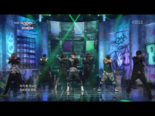 130614 BTS - We Are Bulletproof + No More Dream @ Music Bank